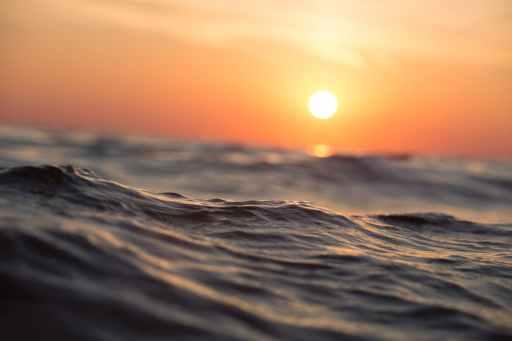 beach dawn dusk ocean